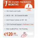 1 Month Subscription C-line Re-share With PPV