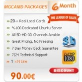6 Months Subscription Server MGCamd