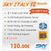 12 Months Subscription Sky Italy MGCamd