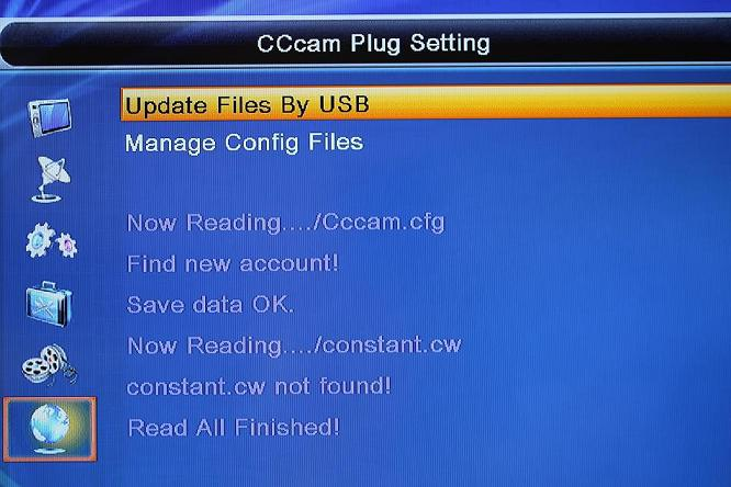 photo How To Load CCcam.cfg Card Sharing Into Skybox/Openbox HD Satellite Decoder Using Thumbdrive