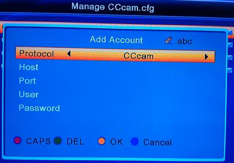 cccam How To Load Or Setup CCcam Card Sharing On Skybox/Openbox S9 Using Remote Control